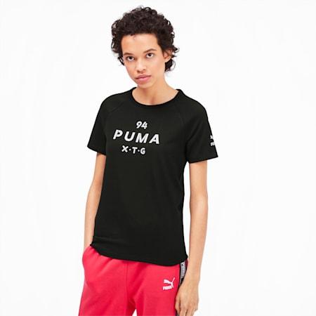 PUMA XTG Women's Graphic Top, Puma Black, small