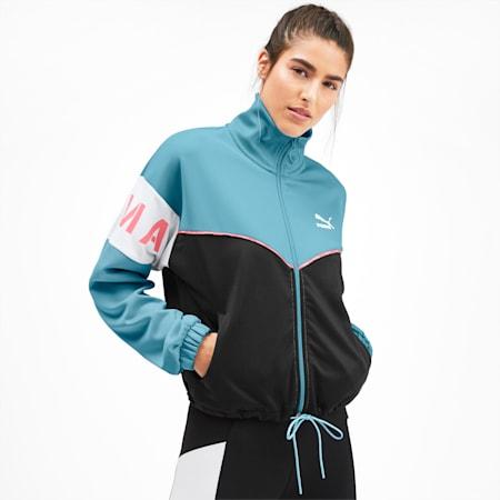 PUMA XTG Women's Track Jacket, Milky Blue, small