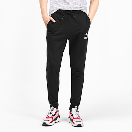 Pantalones deportivos Classics para hombre, Puma Black, pequeño