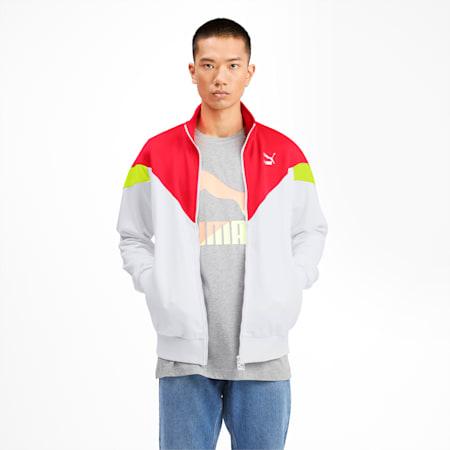 Iconic MCS Men's Track Jacket, Puma White, small