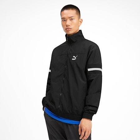 PUMA XTG Woven Men's Track Jacket, Puma Black, small-IND