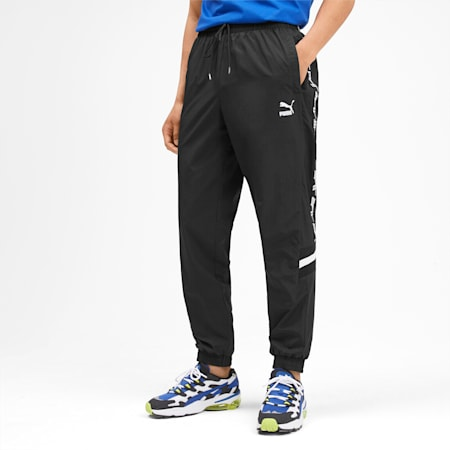 PUMA XTG Woven Men's Pants, Puma Black, small-IND