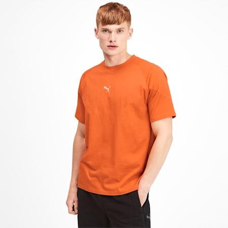 Epoch Short Sleeve Men's Tee, Jaffa Orange, small-SEA