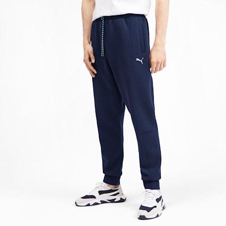 Epoch Men's Cuffed Pants, Peacoat, small