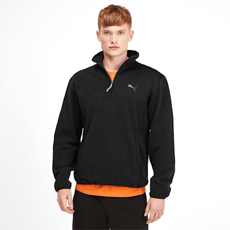 Epoch Hybrid Winterized Men's Savannah Pullover, Puma Black, small