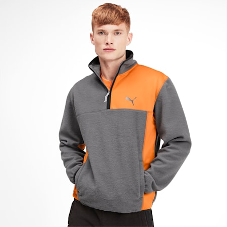 Epoch Hybrid Winterized Men's Savannah Pullover, CASTLEROCK, small