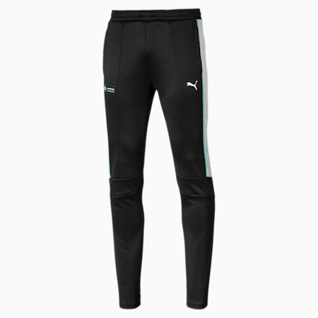Mercedes AMG Petronas T7 Men's Track Pants, Puma Black, small-IND