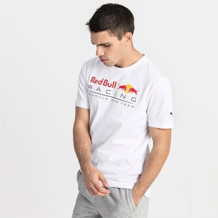 Meska koszulka z logo Red Bull Racing, Puma White, small