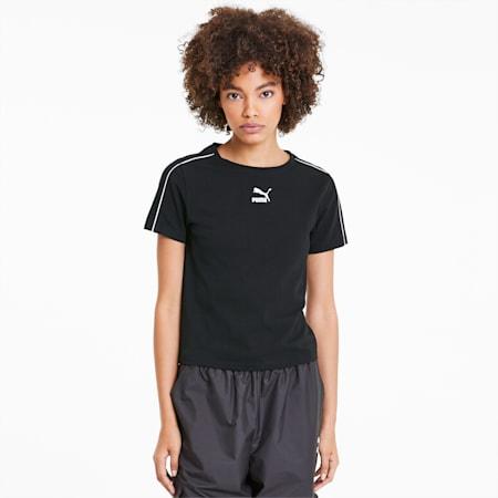 Wasko dopasowany top damski Classics, Puma Black, small