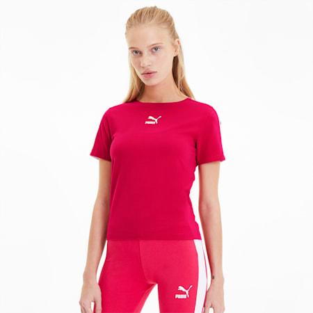Classics Tight Women's Top, BRIGHT ROSE, small-SEA