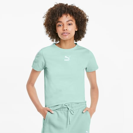 Classics Tight Women's Top, Mist Green, small