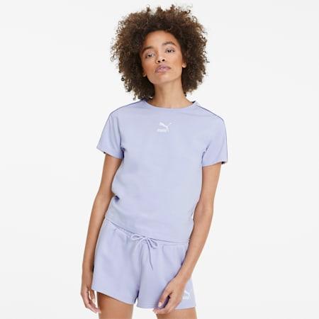 Classics Women's Tight Top, Purple Heather, small