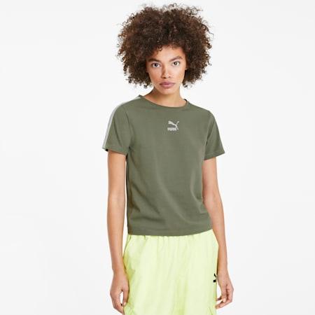 Classics Women's Tight Top, Deep Lichen Green, small