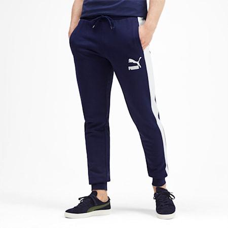 Iconic T7 Men's Track Pants, Peacoat, small