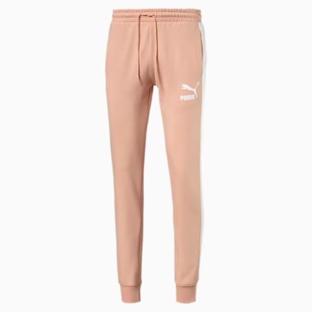 Pantaloni sportivi Iconic T7 uomo, Pink Sand, small