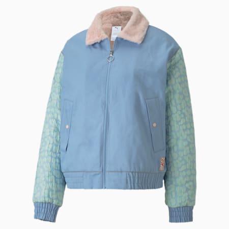 PUMA x SOPHIA WEBSTER ウィメンズ ボンバージャケット, Dream Blue, small-JPN