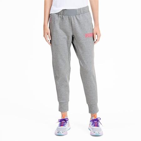 PUMA x SOPHIA WEBSTER Women's Sweatpants, Light Gray Heather, small