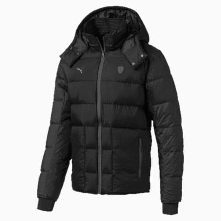 Ferrari Down Men's Jacket, Puma Black, small-IND