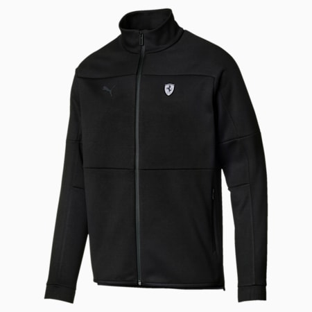 Ferrari Life Men's Jacket, Puma Black, small-IND