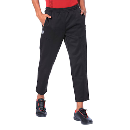 Ferrari Knitted Men's Sweatpants, Puma Black, small-IND