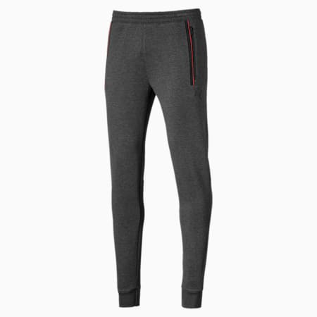 Ferrari Knitted Men's Sweatpants, Dark Gray Heather, small-IND