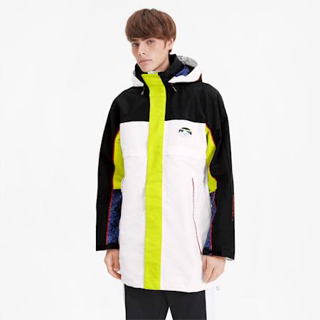 PUMA x LES BENJAMINS Men's Storm Jacket, Puma White, small