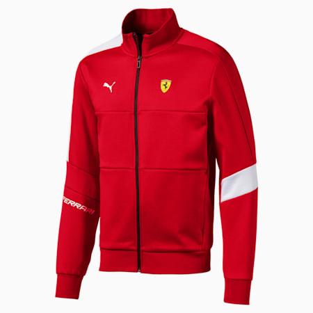 Scuderia Ferrari T7 Men's Track Jacket, Rosso Corsa, small-IND