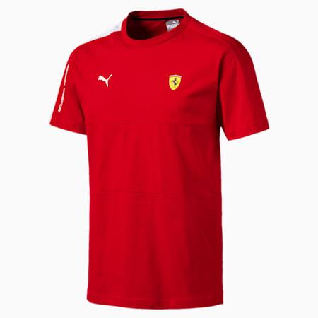 Scuderia Ferrari T7 Men's Tee, Rosso Corsa, small-SEA
