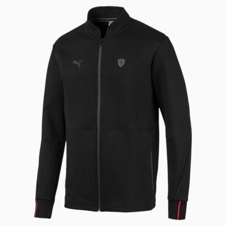 Ferrari Men's Sweat Jacket, Puma Black, small-IND