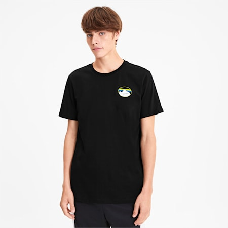 PUMA x LES BENJAMINS Men's Tee, Puma Black, small