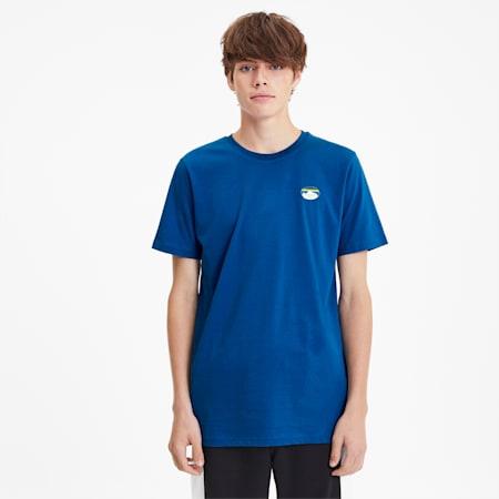Camiseta PUMA x LES BENJAMINS para hombre, Galaxy Blue, pequeño