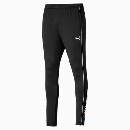 BMW Motorsport Knitted Men's Track Pants, Puma Black, small-IND