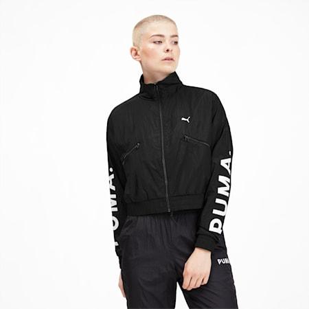 Chase Women's Woven Jacket, Puma Black, small