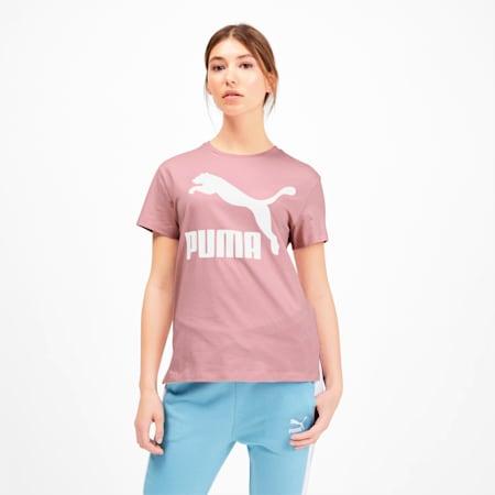 T-Shirt Classics Logo pour femme, Bridal Rose, small
