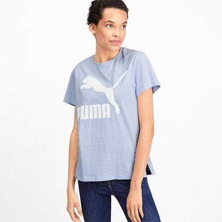 Classics Logo Damen T-Shirt, Heather, small