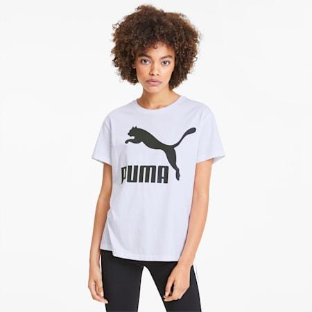 Damska koszulka Classics Logo, Puma White, small