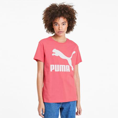 Classics Logo Damen T-Shirt, Bubblegum, small