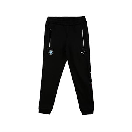 BMW M Motorsport Kids' Sweatpants, Puma Black, small-IND