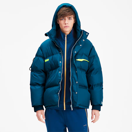 PUMA x ADER ERROR Down Puffer Jacket, Gibraltar Sea, small