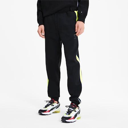 Pantalon de survêtement tricoté PUMA x ADER ERROR T7 pour homme, Puma Black, small