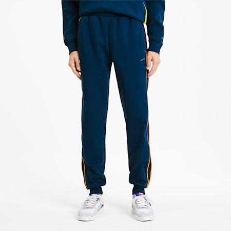 Pantalon de survêtement tricoté PUMA x ADER ERROR T7 pour homme, Gibraltar Sea, small
