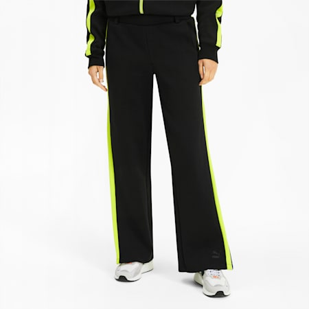 PUMA x ADER ERROR T7 Overlay Women's Track Pants, Cotton Black, small