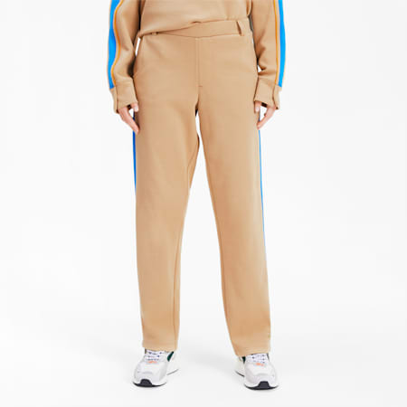 PUMA x ADER ERROR Women's T7 Overlay Pants, Taos Taupe, small