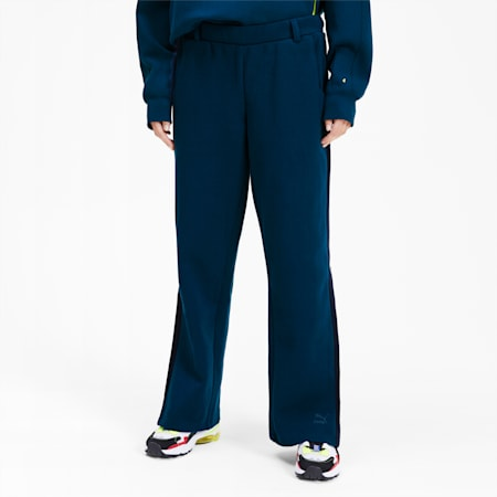Pantalon de survêtement PUMA x ADER ERROR T7 Overlay pour femme, Gibraltar Sea, small