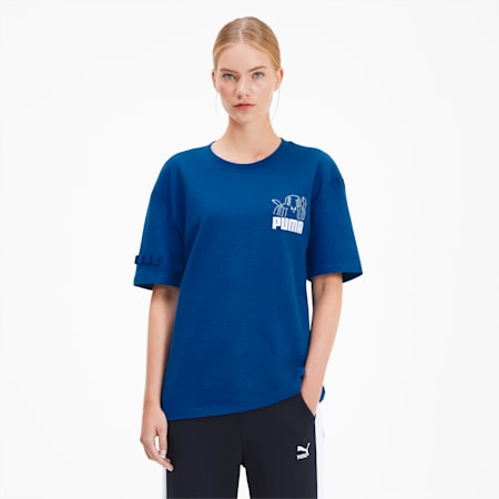 PUMA x TYAKASHA Tee, Galaxy Blue, small