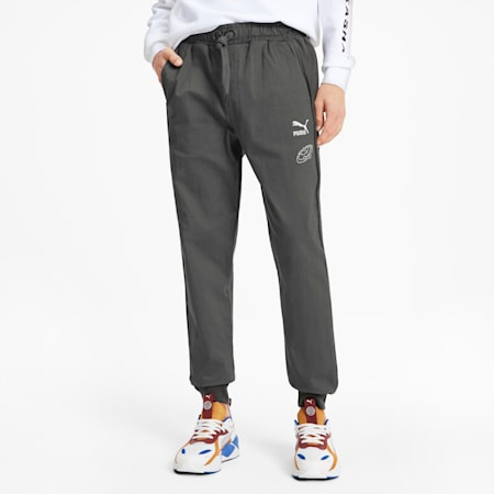 PUMA x TYAKASHA Woven Men's Pants, CASTLEROCK, small-SEA