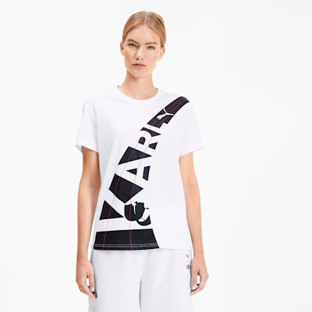 PUMA x KARL LAGERFELD Women's Tee, Puma White, small-SEA