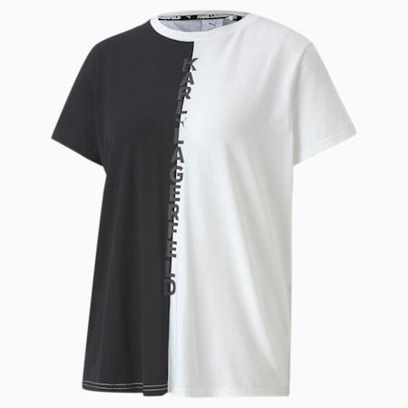PUMA x KARL LAGERFELD ウィメンズ オープンバック Tシャツ, Puma Black, small-JPN