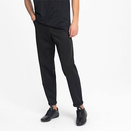 Porsche Design Men's Knitted Pocket Pants, Jet Black, small