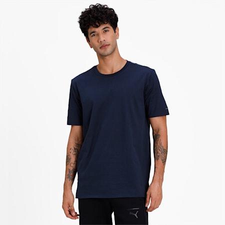 M Porsche Design Essential Men's T-Shirt, Navy Blazer, small-IND